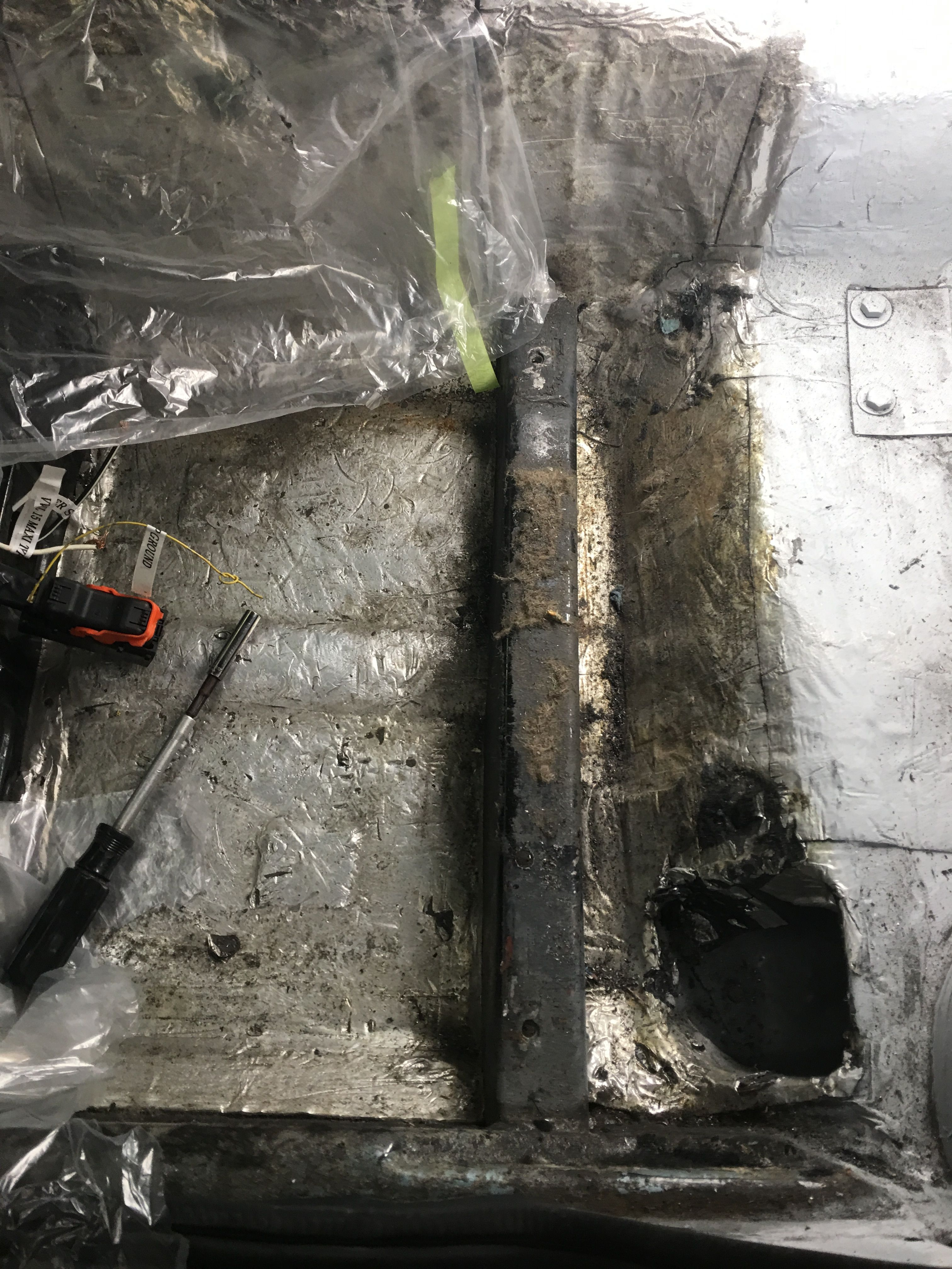 hight resolution of replacing the fuse box and cleaning up the firewall my datsun zreplacing the fuse box and