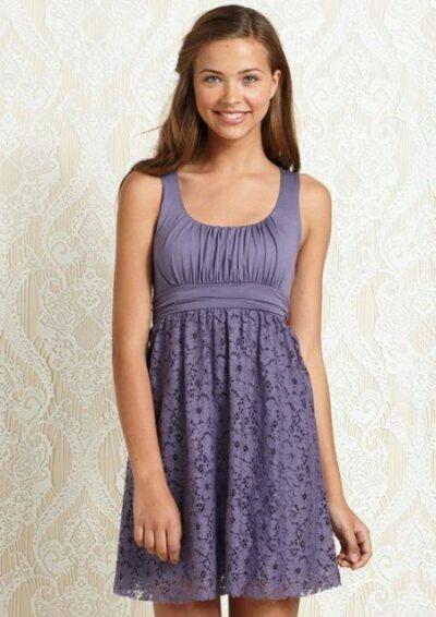 f8e7f2bd56fb adorable purple summer dress   Women's Style   Summer dresses, Cute ...