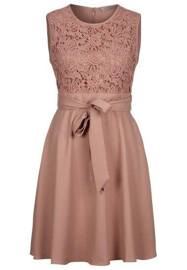 Kleid Mit Spitze Kleider Kleider Hochzeit Kleidchen