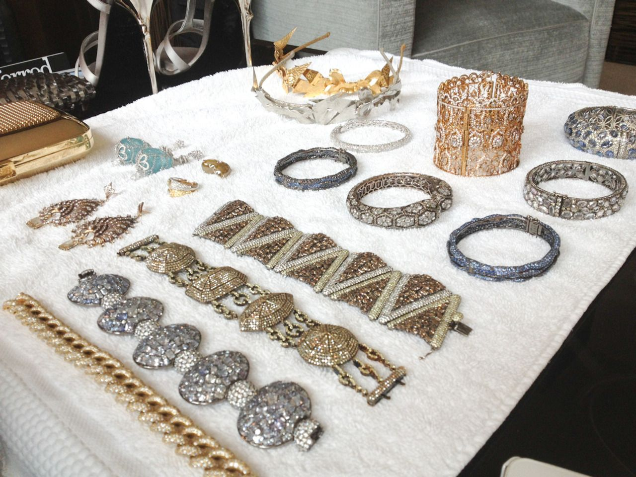 NYC Bling Ring. Shout out to ring leader Lorraine Schwartz.