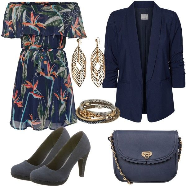 Abend Outfits: Off-Shoulder-Kleid bei FrauenOutfits.deDen ...