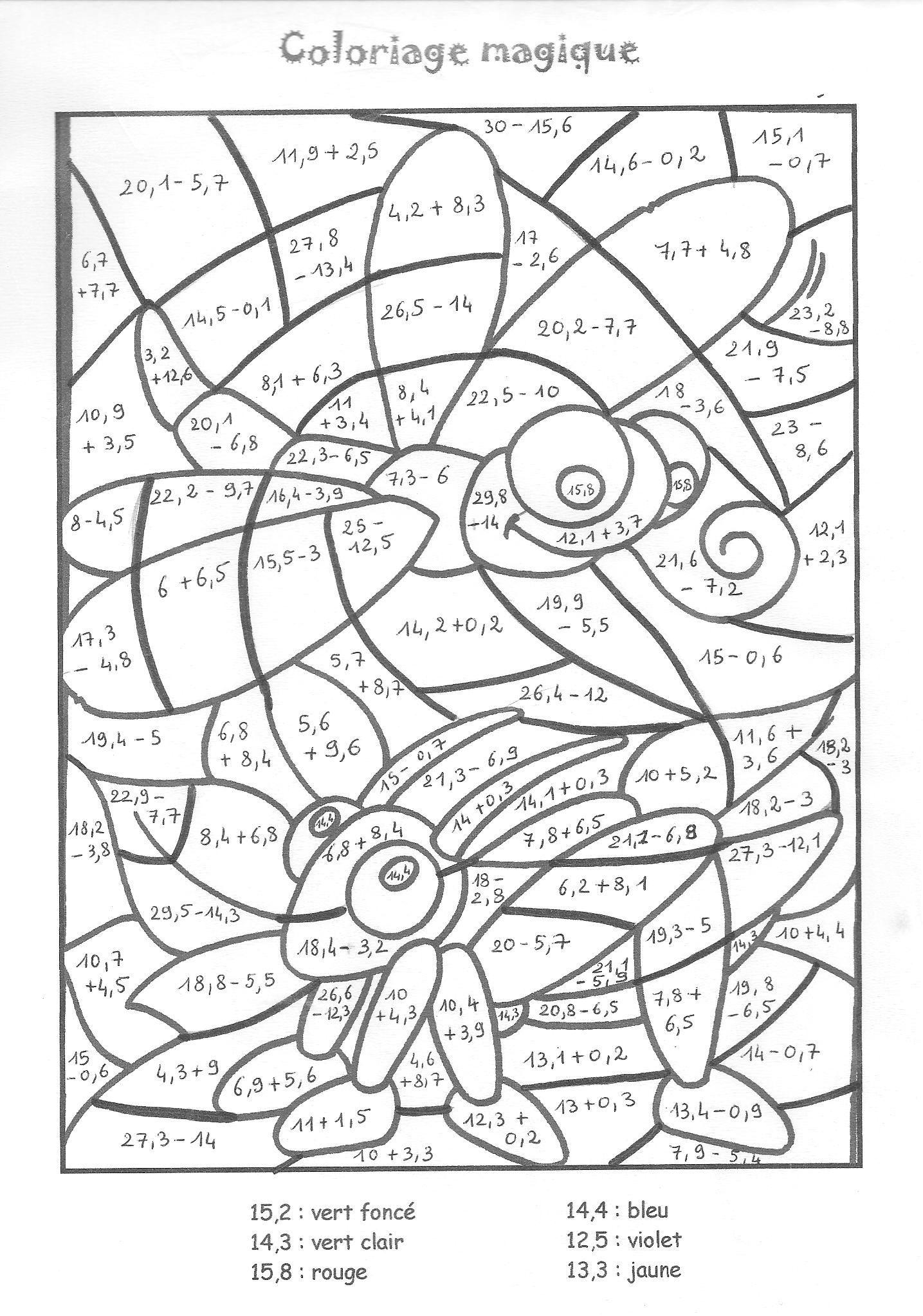 25 Coloriage Magique Multiplication A Imprimer Elegant