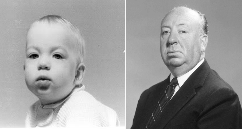 Alfred Hitchcock young and old....The same | Hitchcock film, Alfred  hitchcock, Good movies