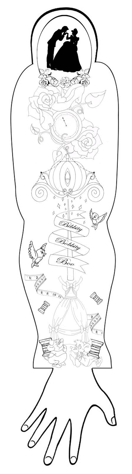 Arm Tattoos On Pinterest Temporary Tattoo Sleeve Template