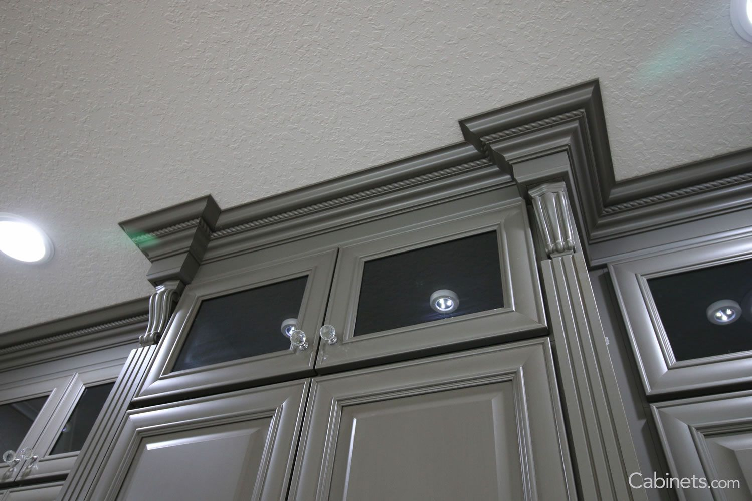 Springfield Maple Creek Stone Brushed Brown Glaze Grey Painted Cabinets Online Kitchen Cabinets Discount Cabinets
