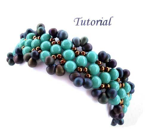 Tutorial-Aruba-Blue-bracelet-by-ellad2