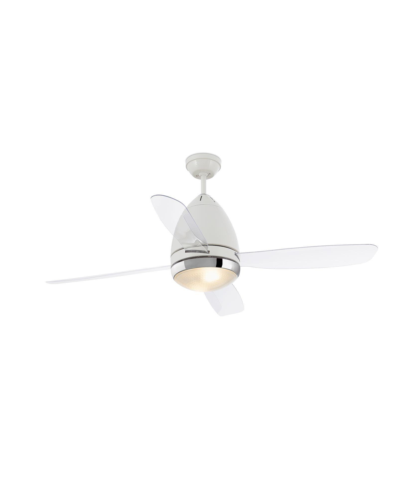 Ventilador MEDITERRANEO blanco ⋆ La Casa de la Lámpara