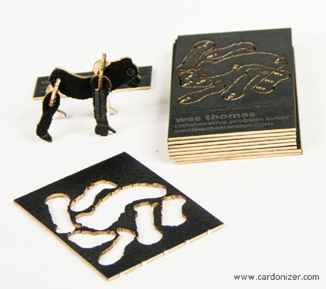 Innovative cutout animals puzzle business card 255 creative innovative cutout animals puzzle business card 255 creative unique business cards design inspiration ideas colourmoves
