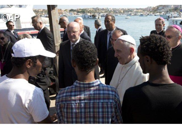 Dokument: Papstpredigt vor Flüchtlingen auf LampedusaRadio Vatikan