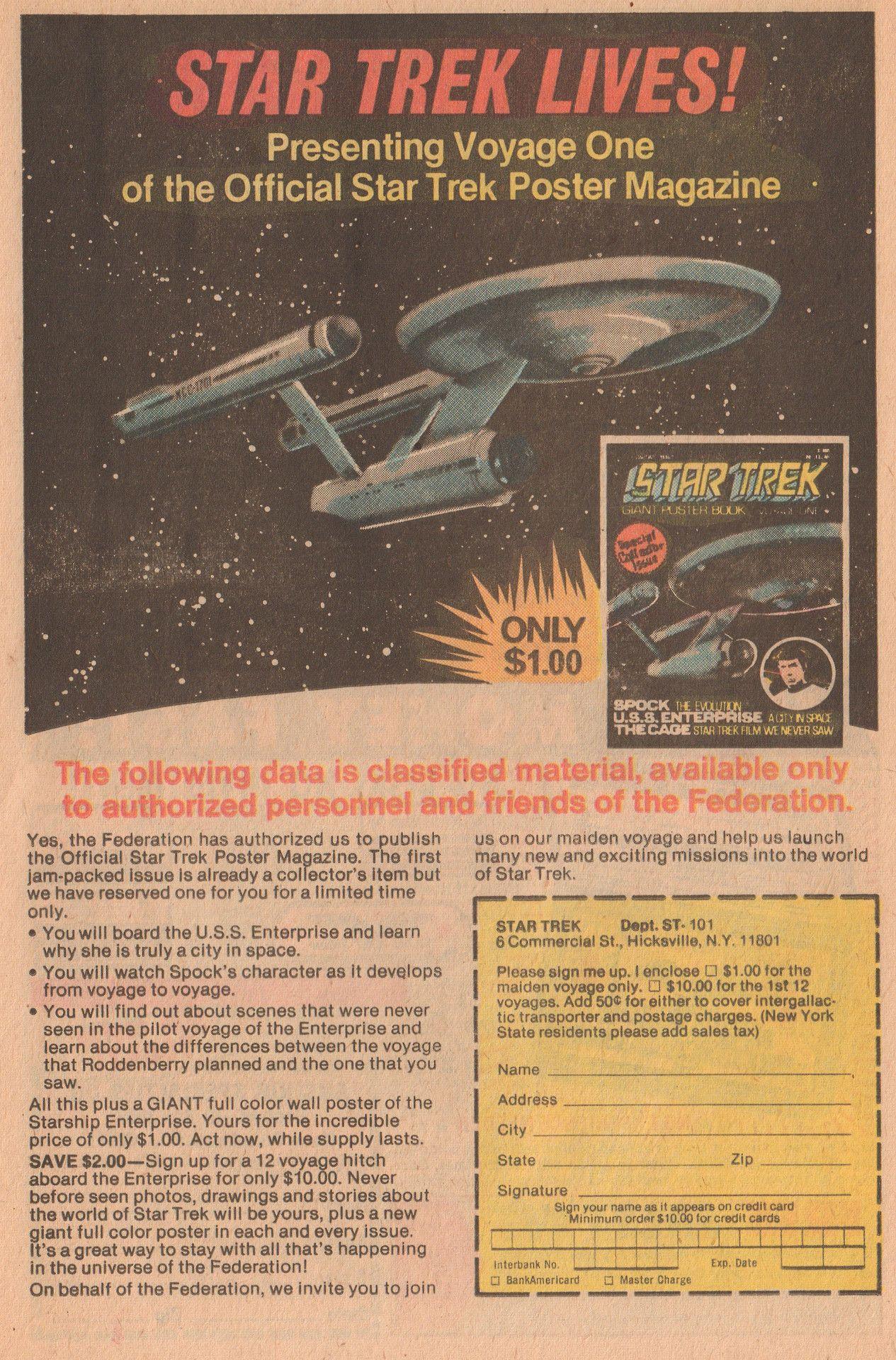 Buttered Pop Culture Pop Culture Star Trek Poster