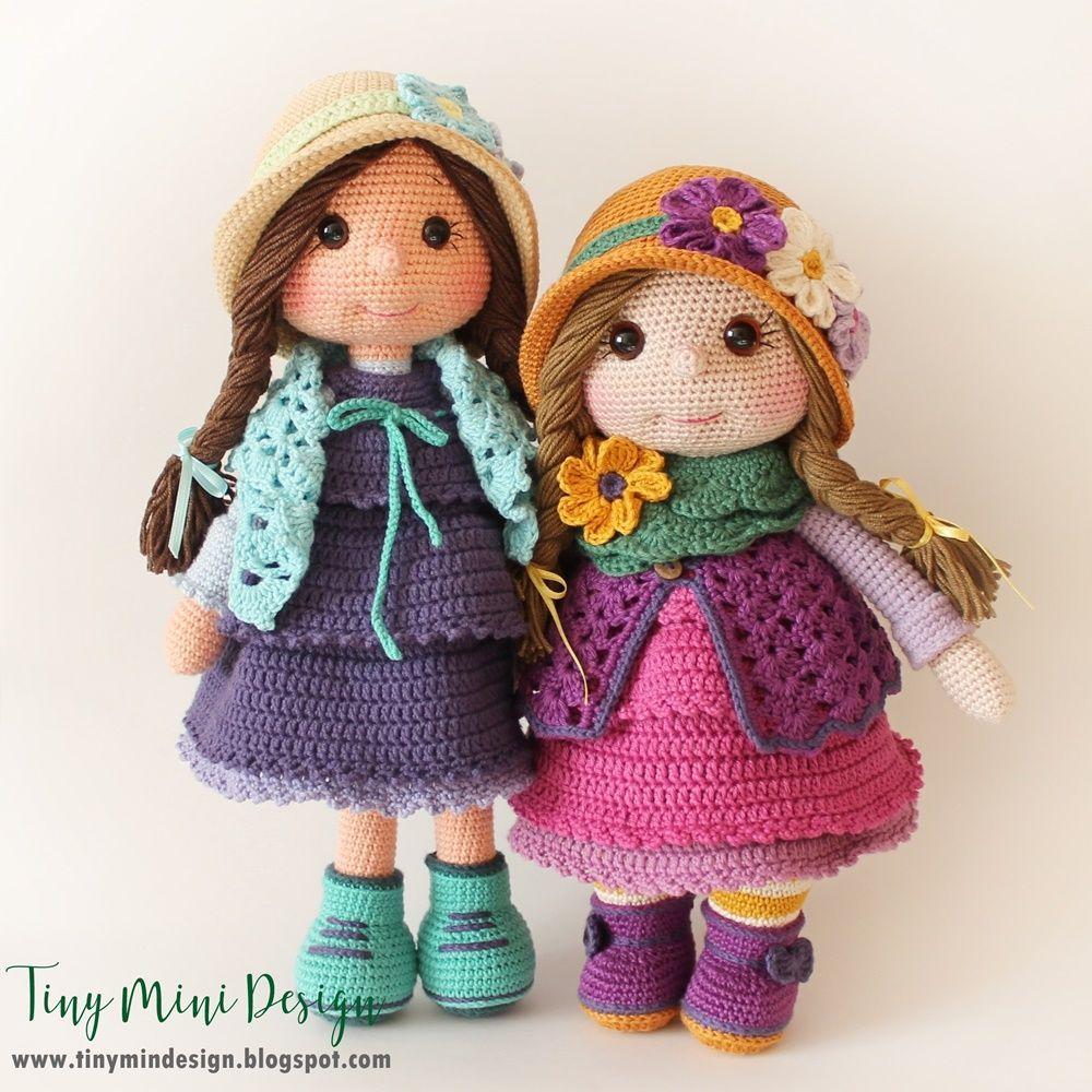 Amigurumi Molly Doll-Free Pattern | Crochet dolls free patterns ... | 1000x1000