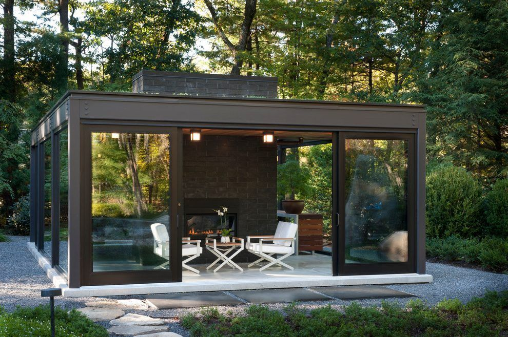 Image Result For Contemporary Enclosed Gazebo With Kitchen