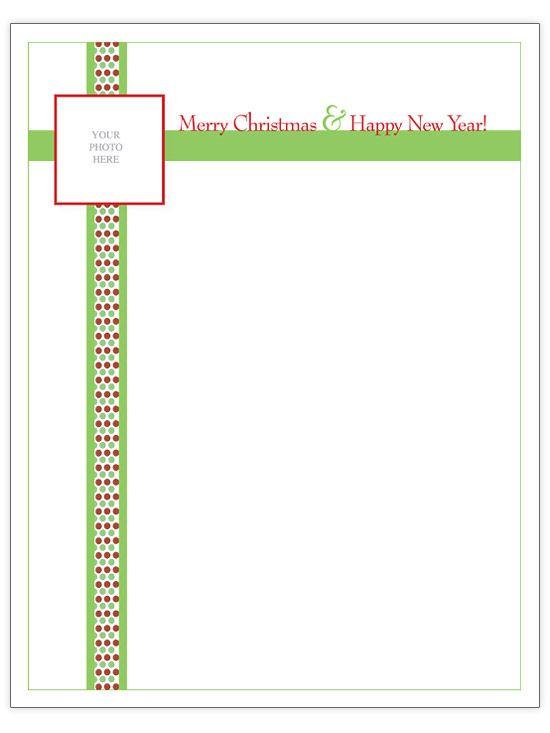 Free Christmas Letter Templates Christmas letters, Letter - letter i template