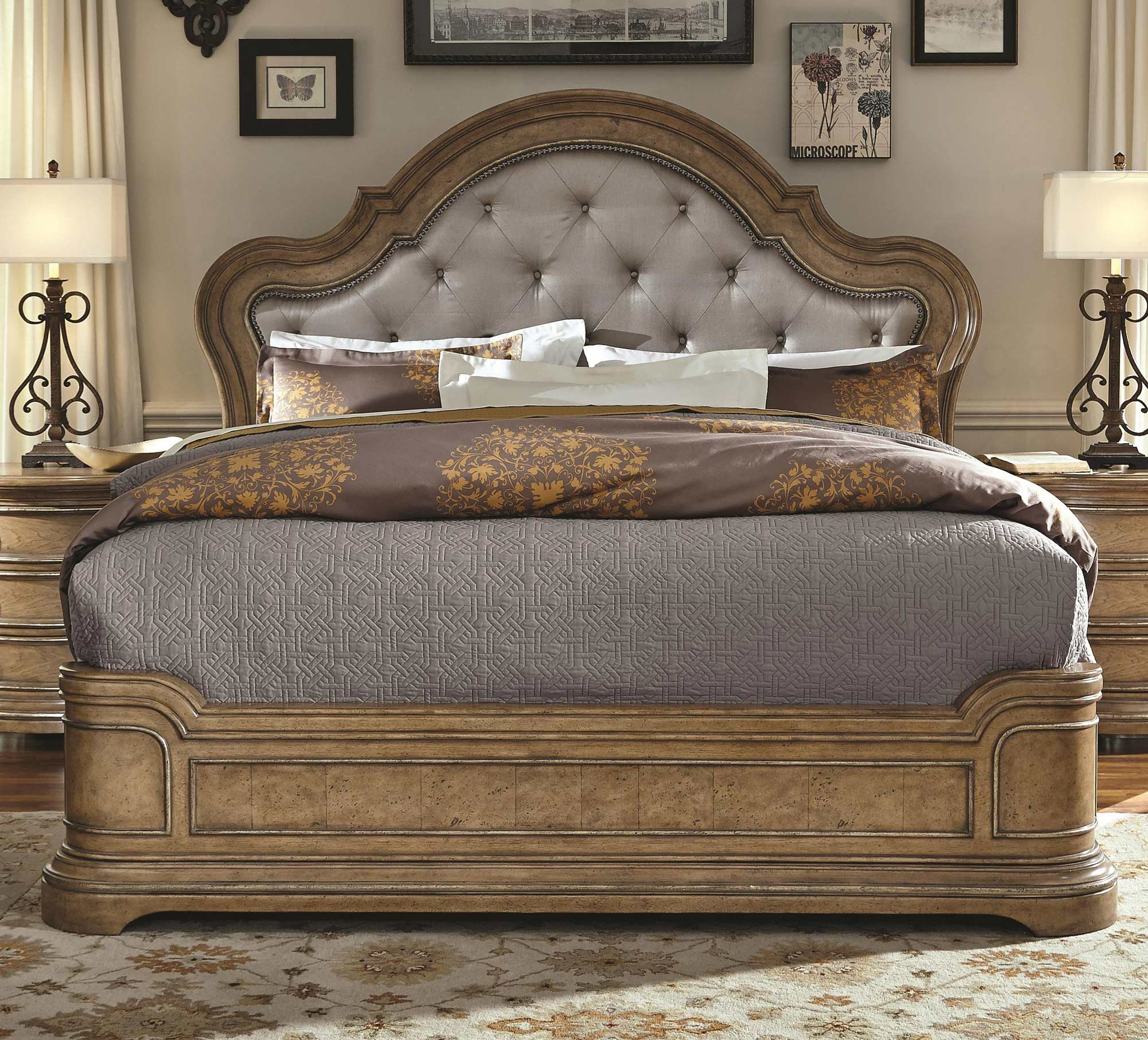 California King Platform Bed | Pulaski | Home Gallery Stores ...