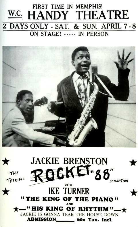Pin by Howard Swinford on music   Blues music poster, Memphis, Ike turner