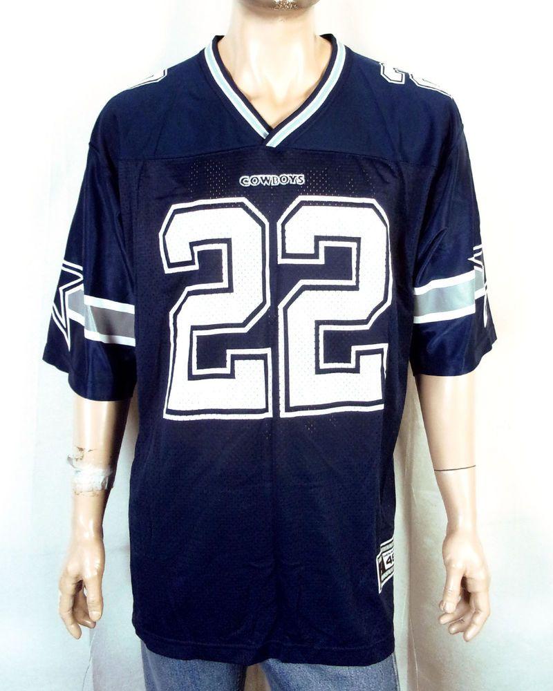 los angeles ceb19 2ed13 vtg 90s Starter NWOT mint Emmitt Smith NFL Jersey Dallas ...