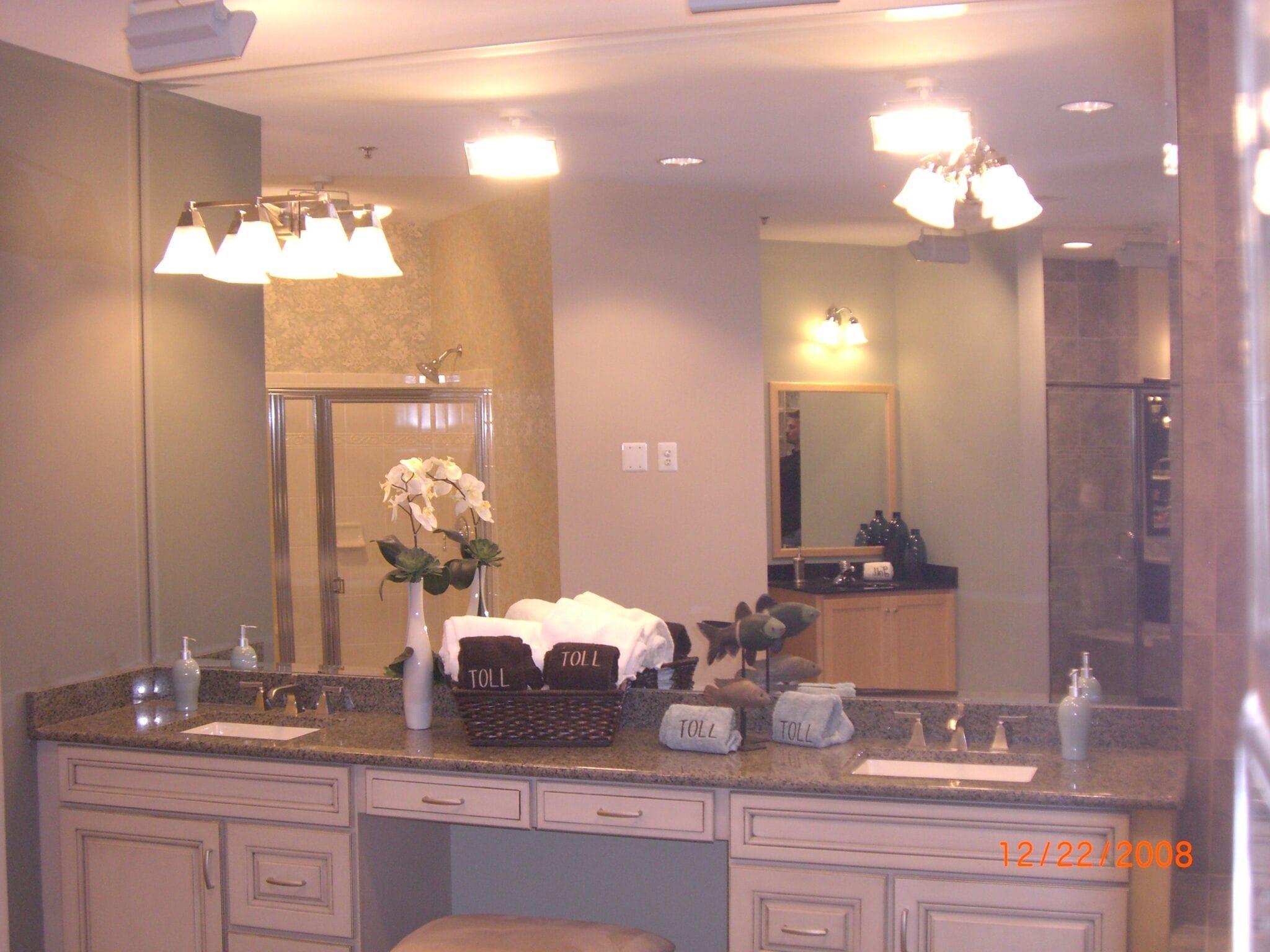 Bathroom Vanity Mirror W Light Cutouts Min Bathroomvanitymirrors
