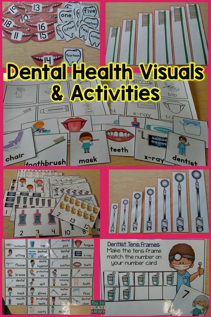 Dental Health Special Ed Thematic Unit Dental health