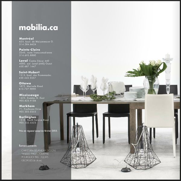 Stylism For Mobilia Oct 2012 Dining Table Home Decor Decor