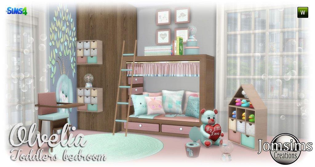 Children S Room Sims 4 Deco Chambre Enfant Sims Chambre Enfant