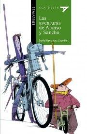 : Las aventuras de Alonso y Sancho / Daniel Henández Chambers ; ilustraciones Paco Giménez. Zaragoza : Edelvives, 2015. RESUMEN : Particular recreación de las aventuras de Don Quijote.