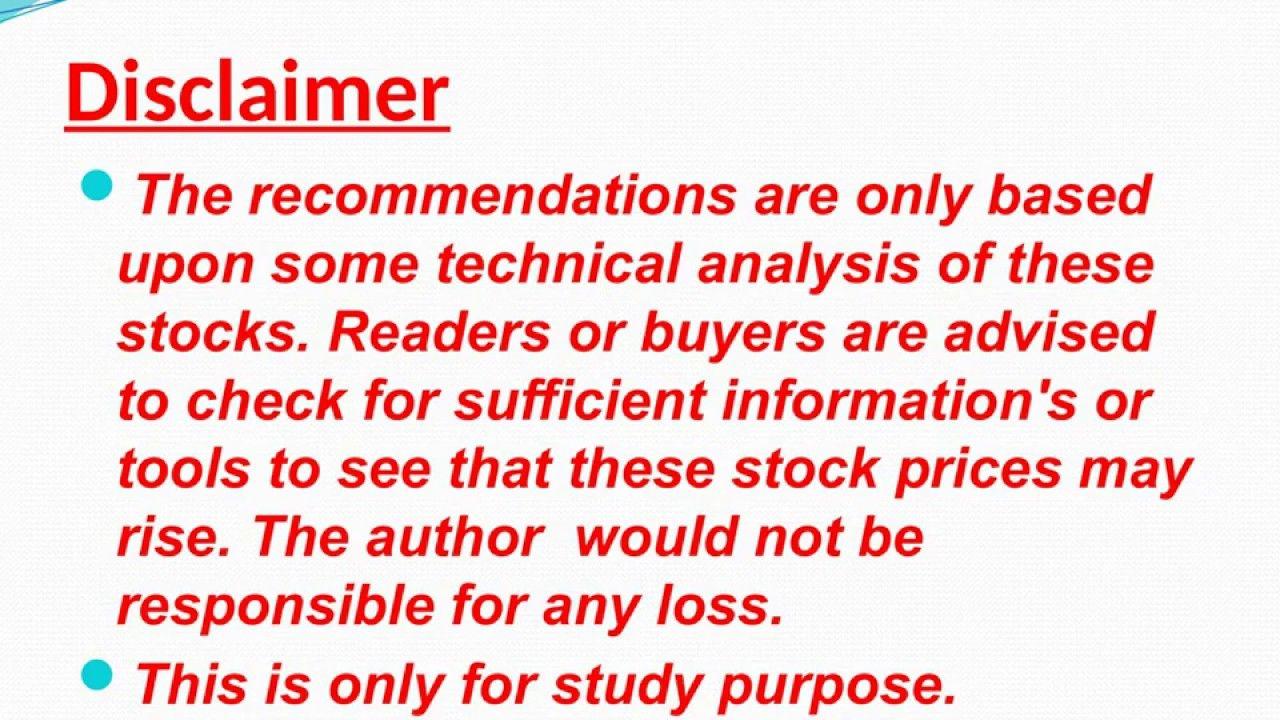 Stock Market Tips For Intradady Trading On 17 June 2019 Dengan