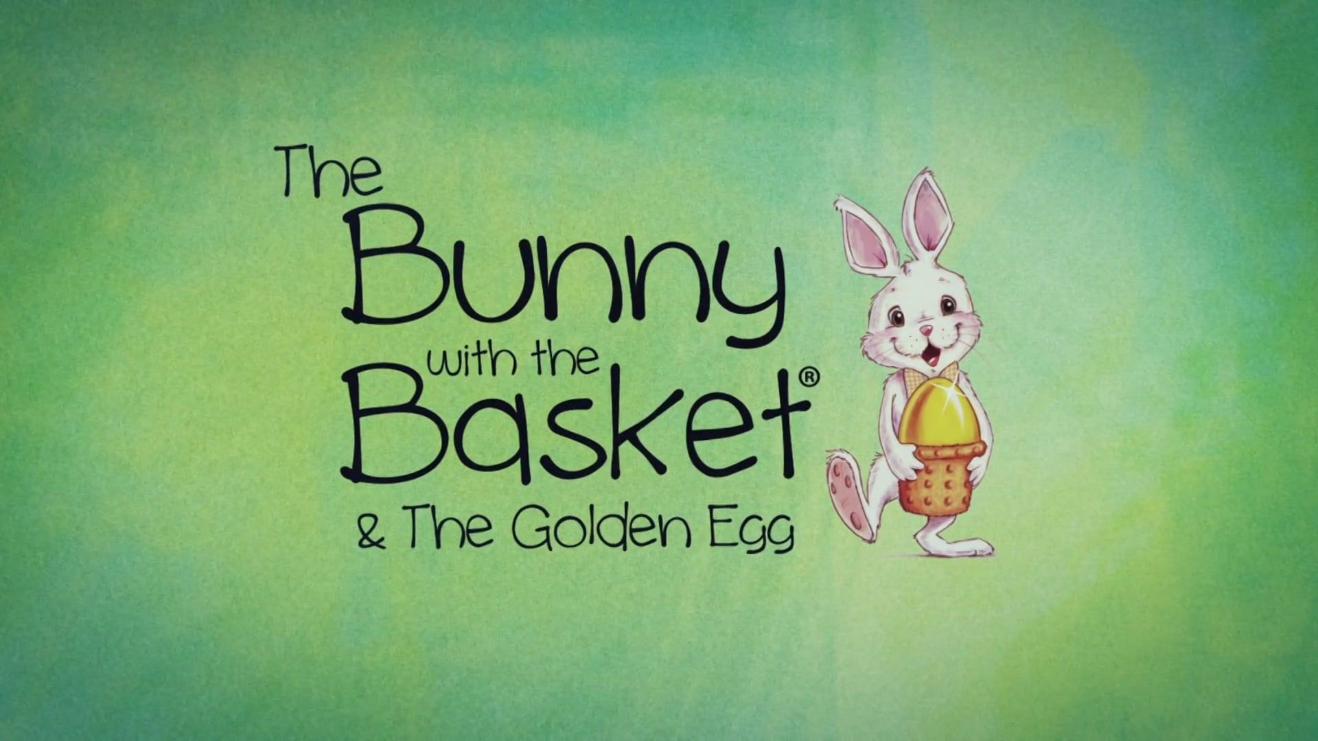 The Bunny With The Basket Amp The Golden Egg Similar To