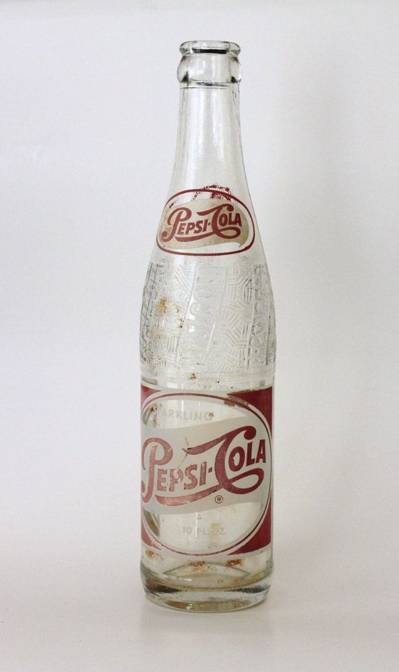 Dating pepsi cola glass bottles
