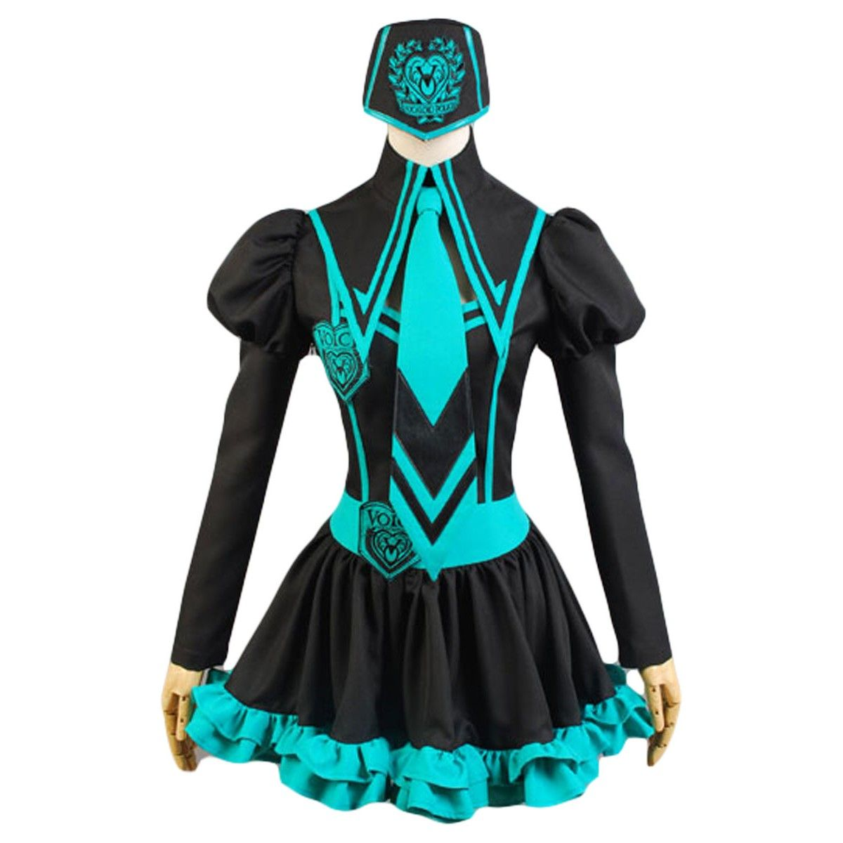 VOCALOID 2 Rin Kagamine Cosplay Halloween Costume Complete Set Size S