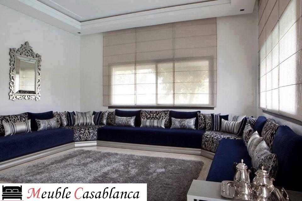 Salon form L et U a Casablanca - Maroc | Majlis | Salon marocain ...