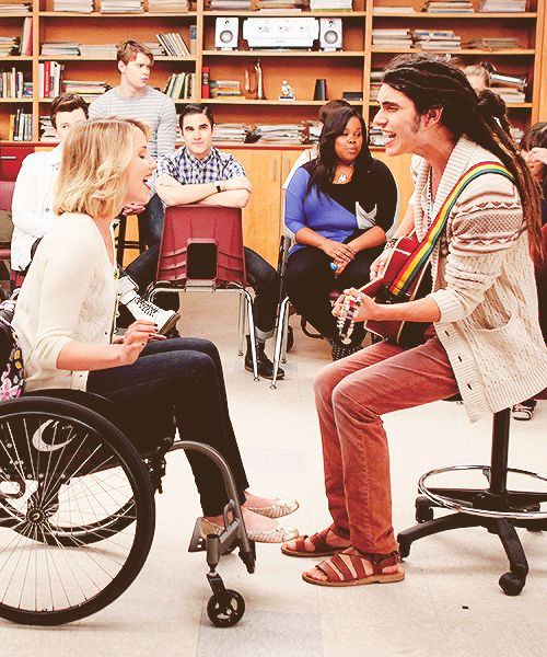 Wheelchair Glee Party Chairs For Sale Wholesale That One Time Quinn Was In A And She Had Thing With Joe