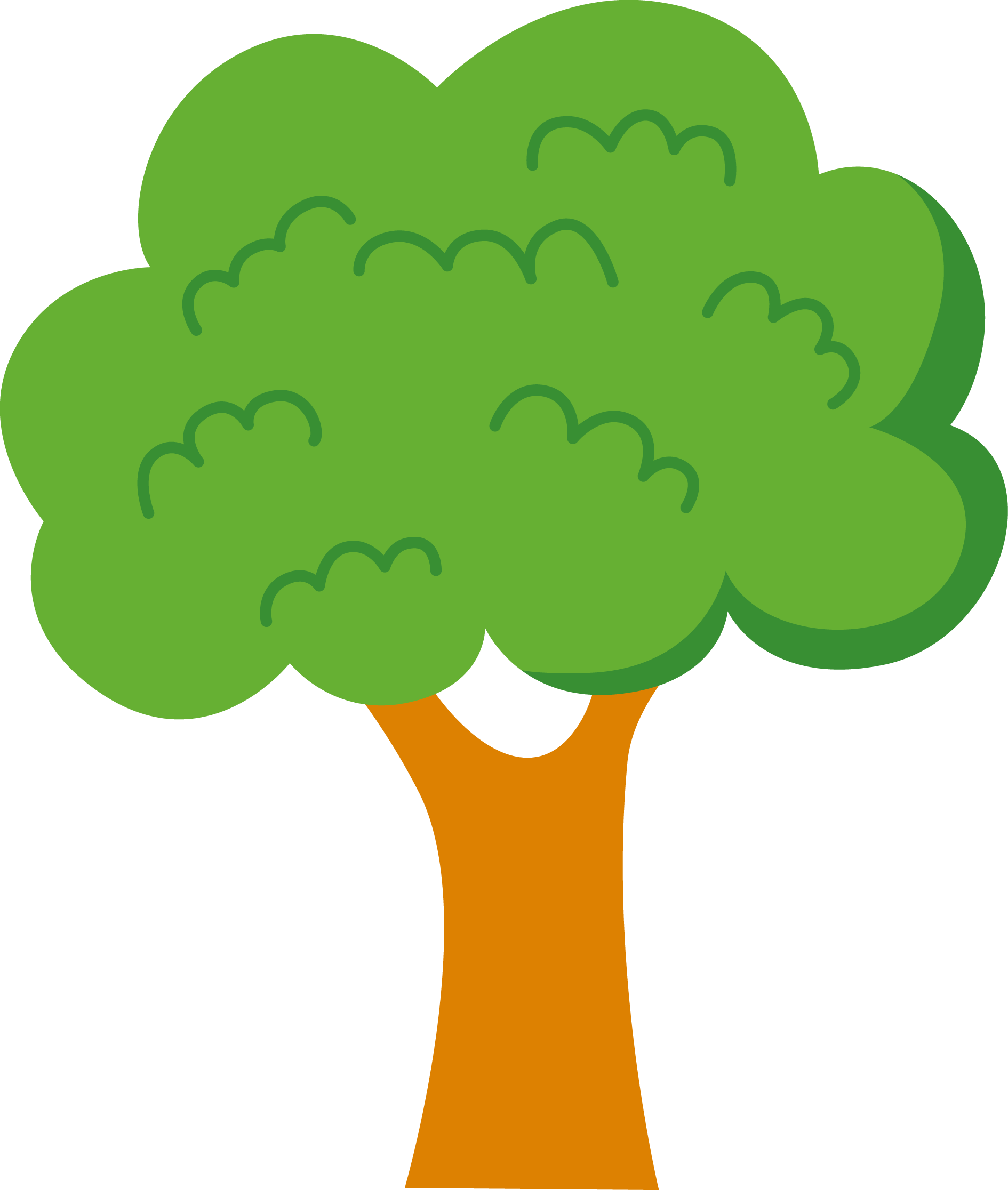 35 green tree clipart. | Clipart Panda - Free Clipart Images ...