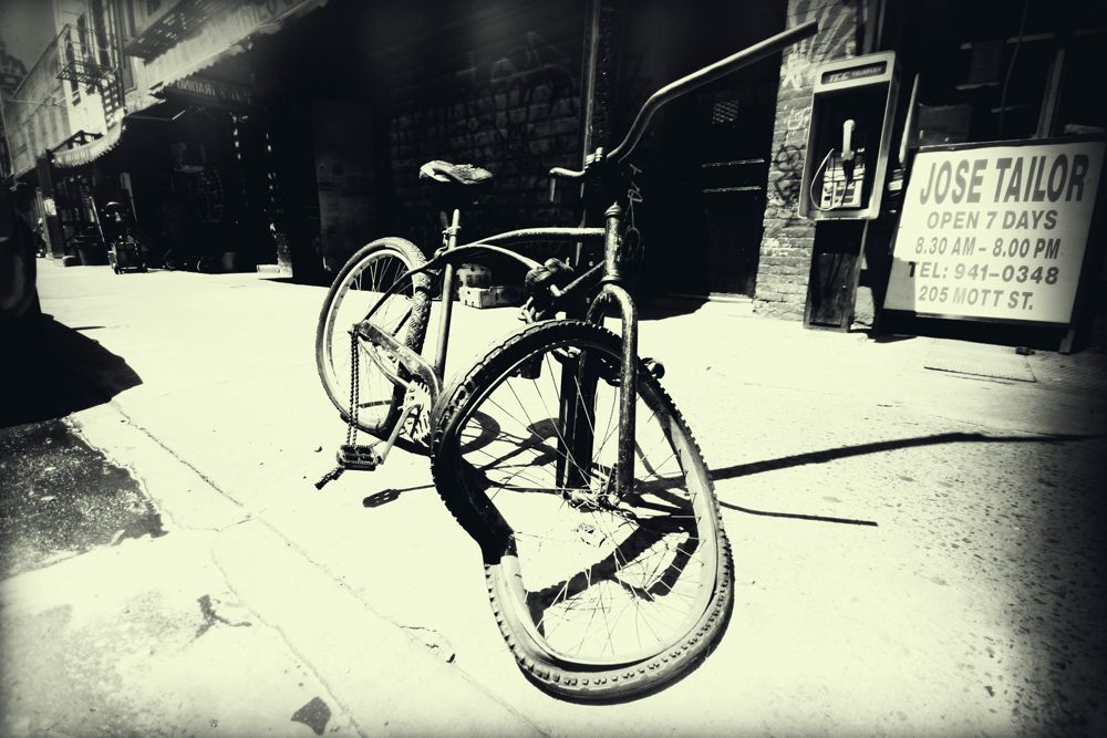 Ny Bw Series 09 By Karin Mueller I Found Many Many Broken Things In New York This Beach Cruiser Was Maybe The Most Beautiful One Thank You So Much