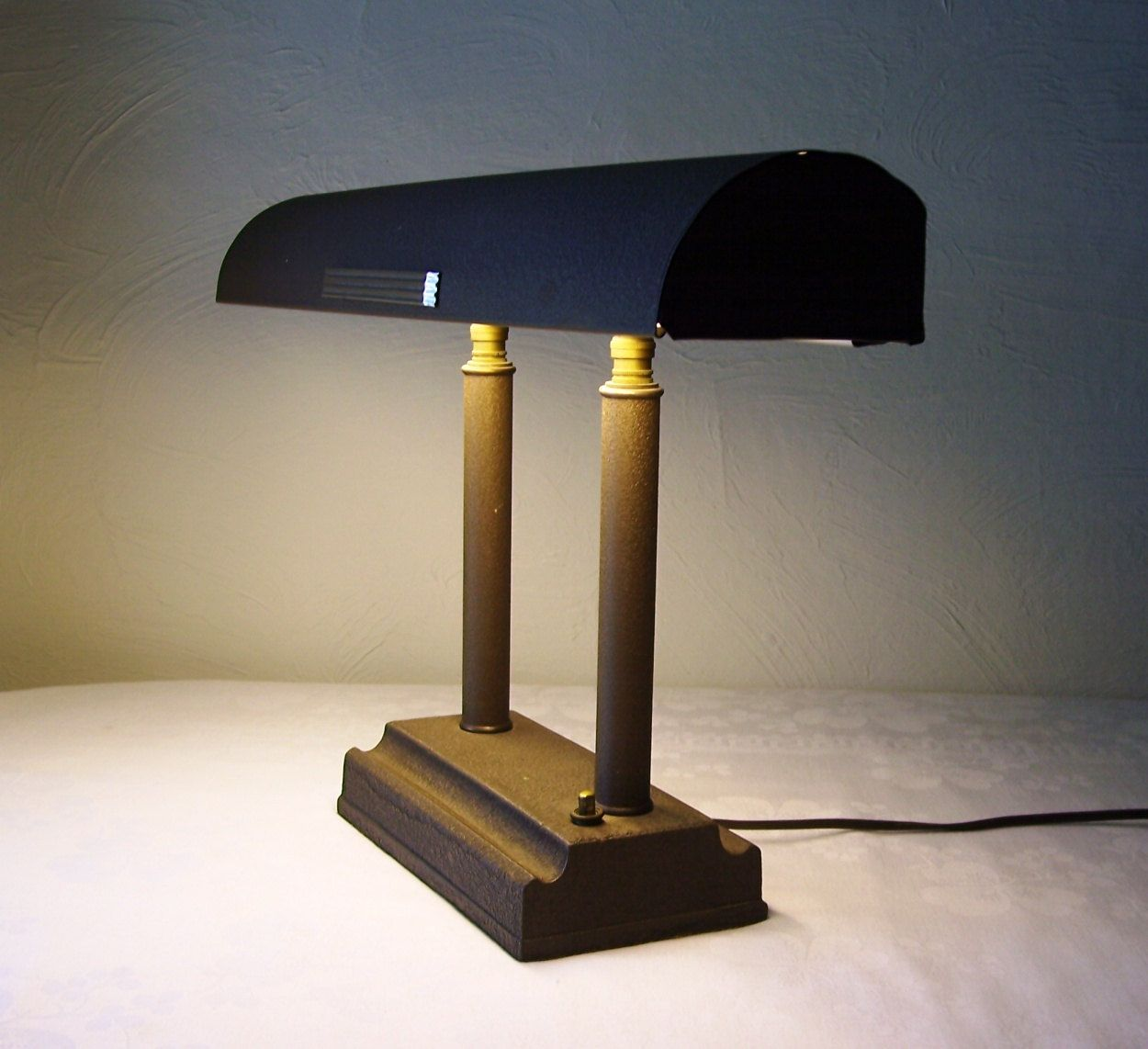 vintage art deco desk lamp adjustable light. $72.00, via Etsy ...