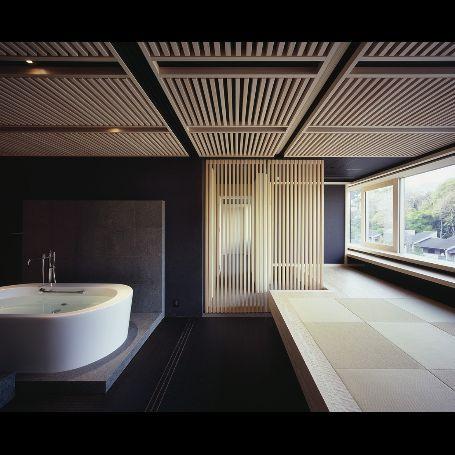 和室 浴室1 高級住宅 ラグジュアリーなバスルーム