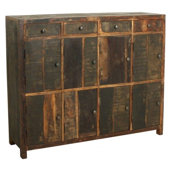 One World Interiors - Factory collection - 8 door closet  + 4 drawers