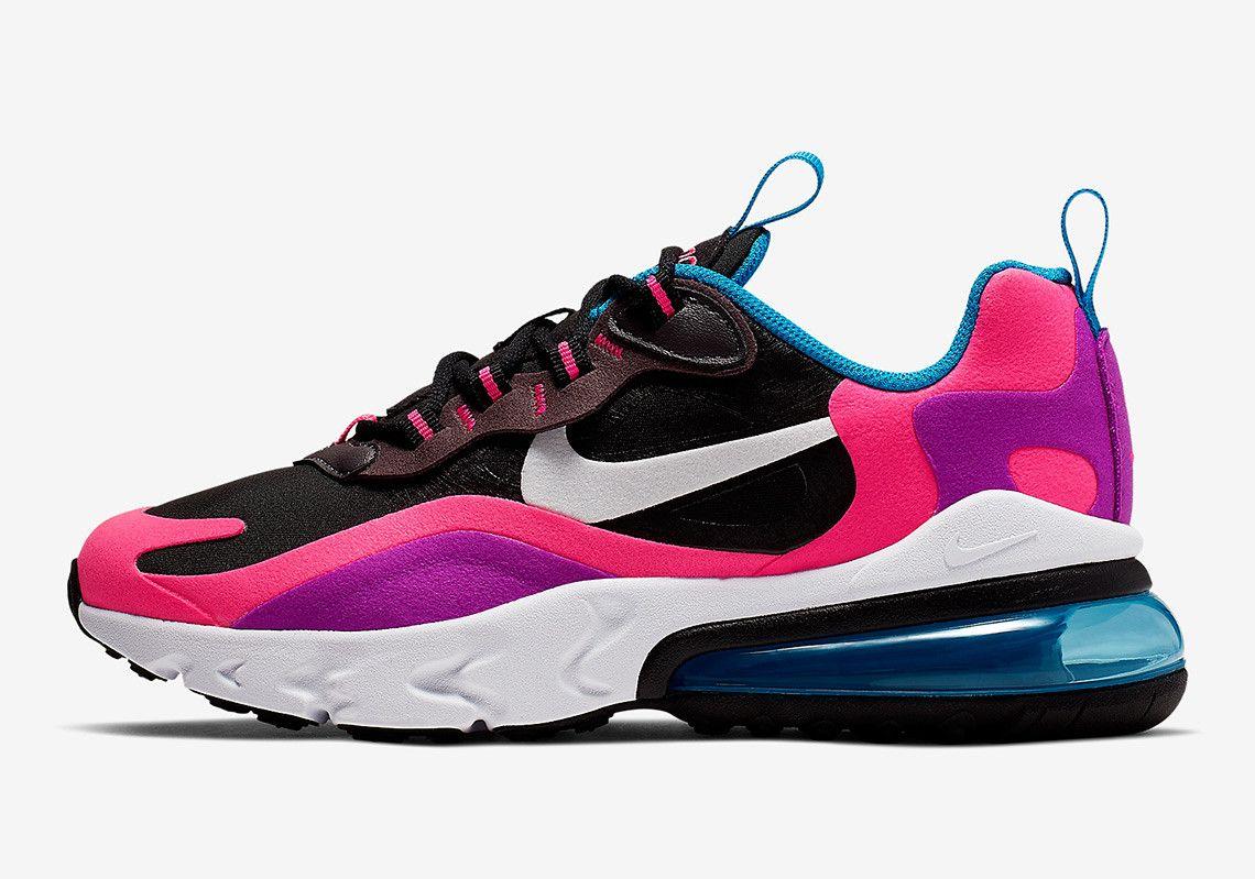 Nike Air Max 270 React Hyper Pink Vivid