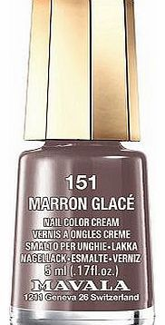 Mavala Mini Colour Nail Polish Marron Glace 5ml 16 Advantage card points. Mavala Mini colour Nail Polish are perfect little pots of colour that wont dry out before you reach the bottom FREE Delivery on orders over 45 GBP. http://www.comparestoreprices.co.uk/nail-products/mavala-mini-colour-nail-polish-marron-glace-5ml.asp
