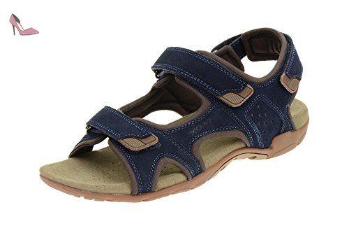 Ocurrencia letra motor  Sandales geox respira s.summer b sandales homme bleu - Bleu - Bleu, 45 EU - Chaussures  geox (*Partner-Link) | Sandales homme, Sandales, Chaussure