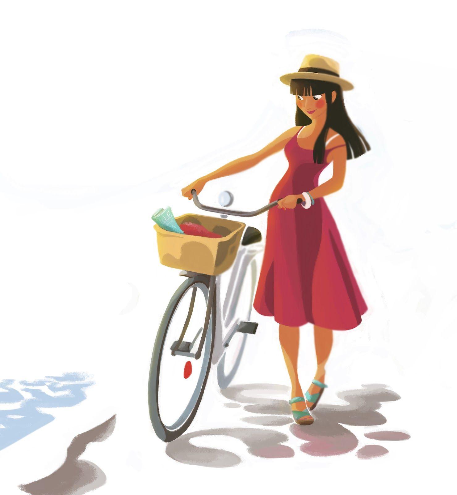les gribouillons de Caroline Piochon   cool   Pinterest   Bicicleta ...