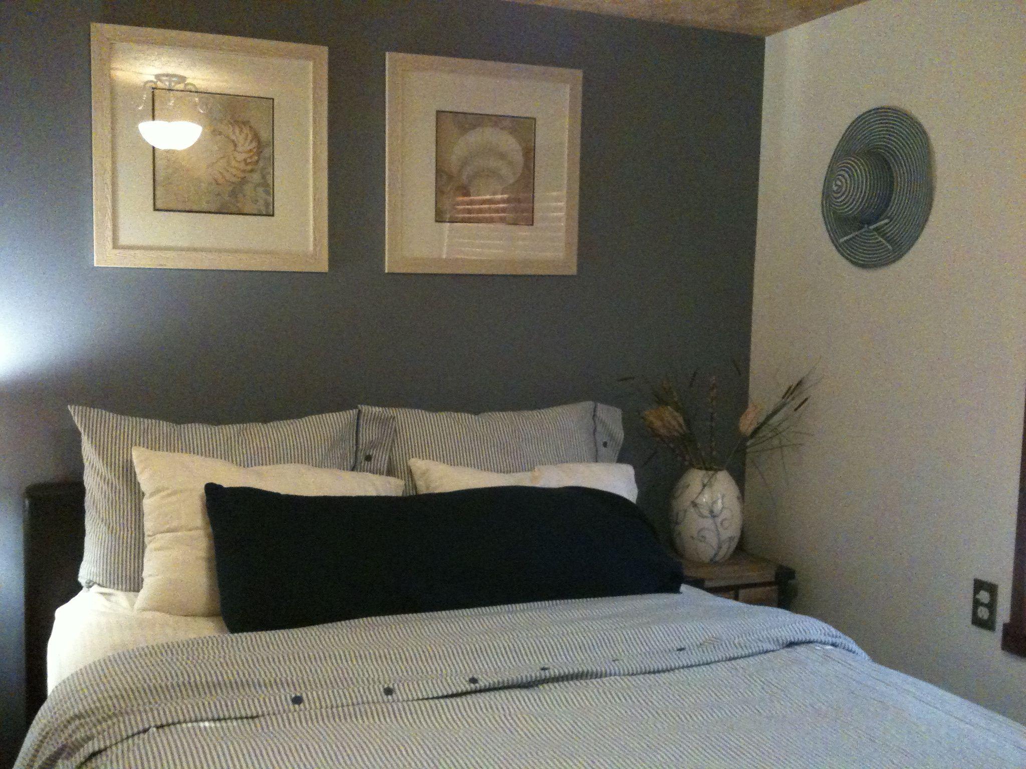 Sherwin williams bracing blue. Calming Family room paint