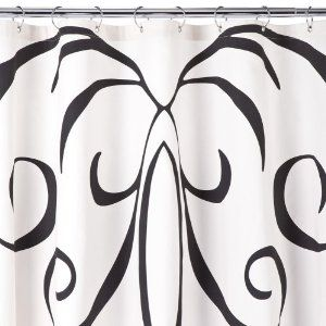 Dwell Studio Baroque Shower Curtain White Shower Curtain Target