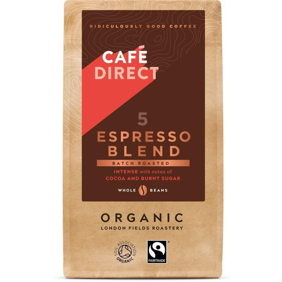Cafédirect Organic Espresso Blend Coffee Beans