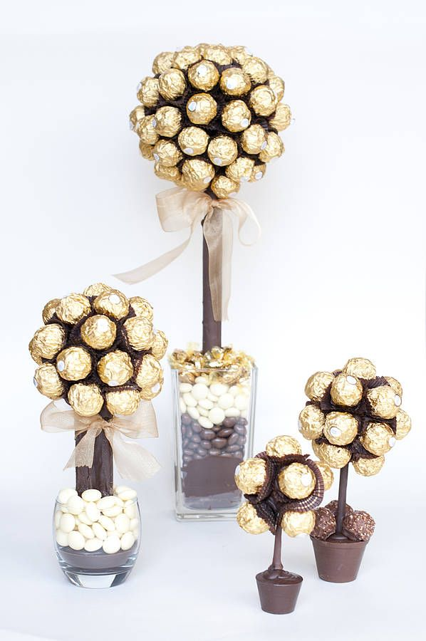 Personalised Ferrero Rocher Sweet Tree Geschenkideen