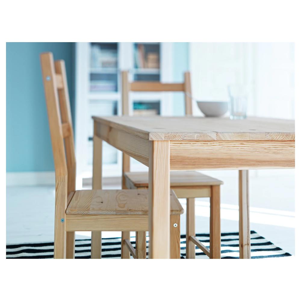 IVAR pine, Chair IKEA in 2020 Outdoor wicker chairs