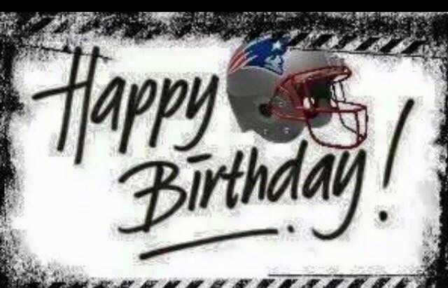 12 Pats Bday Ideas Bday Happy Birthday Patriots