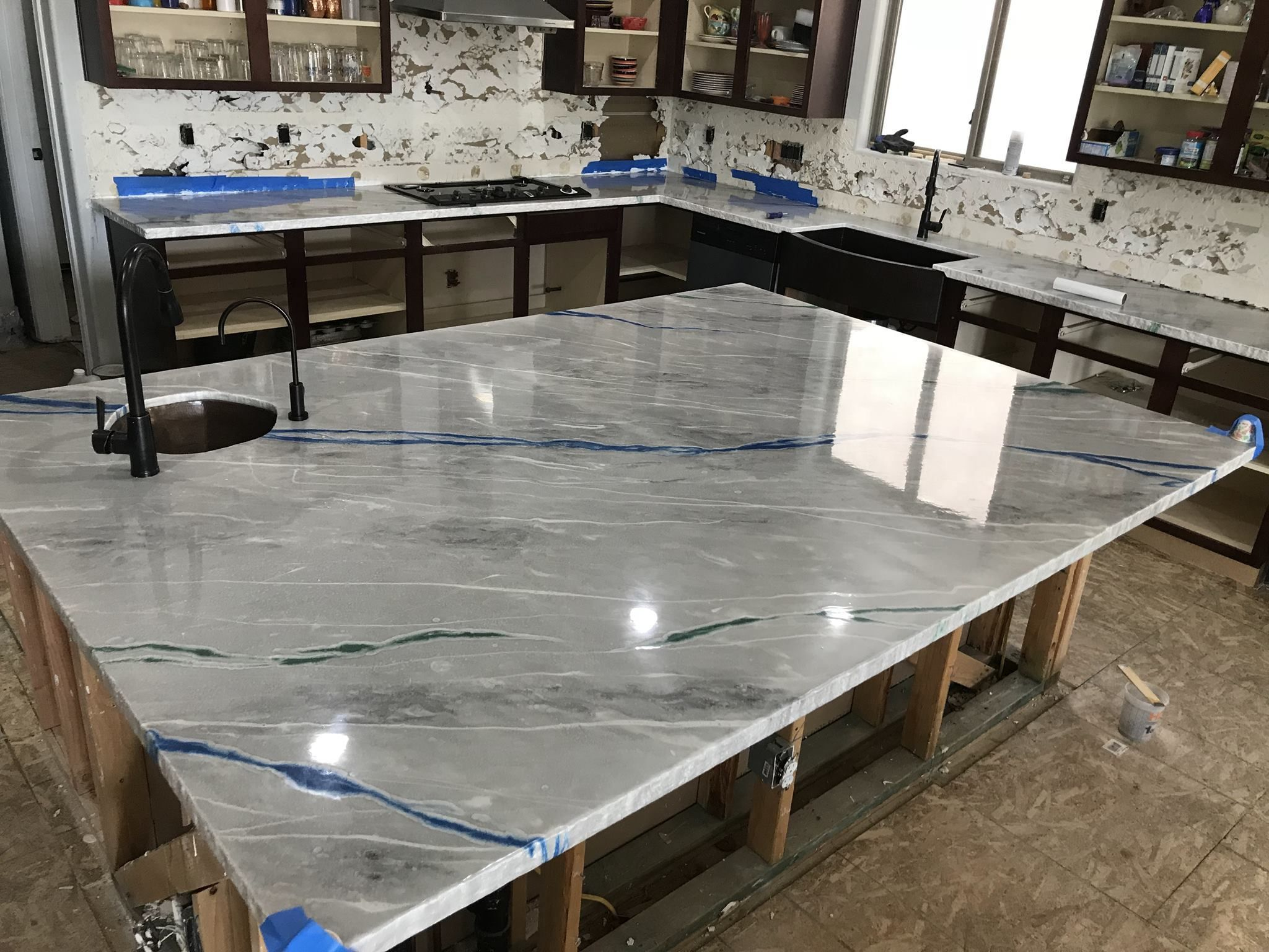 Concrete And Resin Countertops Chesterfield Mo Resin Countertops Concrete Countertops Countertops