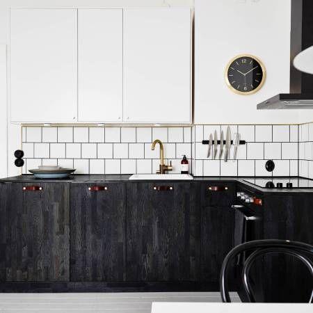 I wish I lived here: A black kitchen