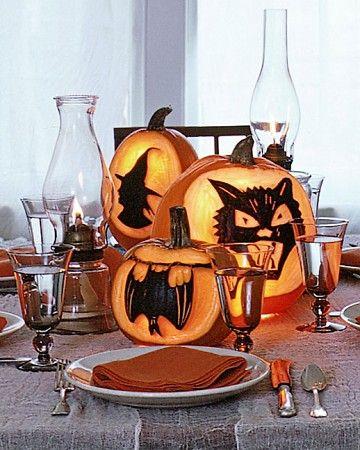 Spooky Silhouette Designs