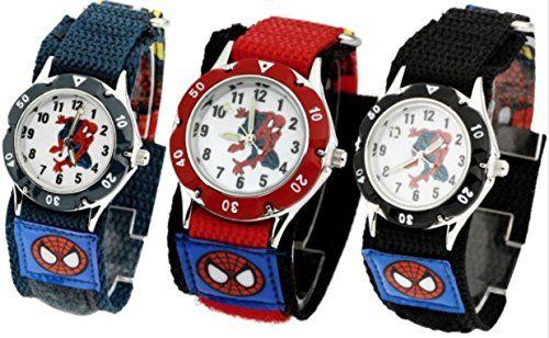 Watches High Quality Waterproof Cartoon Quartz Watches For Student Boy Kids Child Gift Wristwatch Cool Spiderman Children Watch
